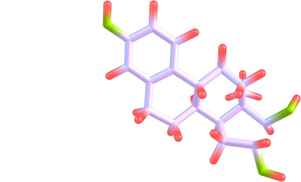 Estriol molecular structure